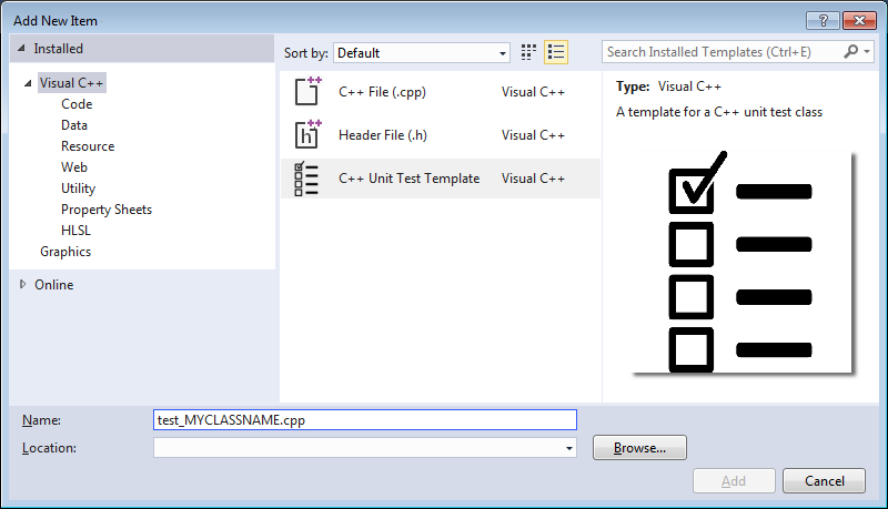 Visual studio item templates custom wizards and vsix installers a custom item template in the iadd new maxwellsz